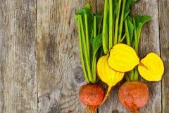 Fresh Raw Orange Beetroot, Beet. Studio Photo Stock Photo
