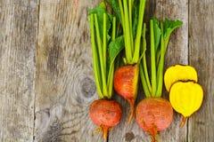 Fresh Raw Orange Beetroot, Beet. Studio Photo Royalty Free Stock Photography