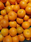 Fresh Orange from farms sold in the market, supermarkets stock photography
