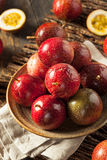 Fresh Raw Organic Passion Fruit. Ready to Eat Royalty Free Stock Images
