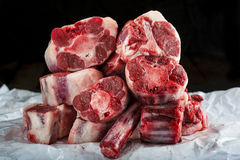 Fresh and raw oxtail cut Stock Photography