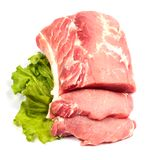 Fresh raw pork Royalty Free Stock Photos