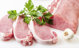 Fresh raw pork Stock Image