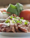 Fresh raw pork with fresh Stock Photo