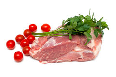 Fresh raw pork meat Stock Image