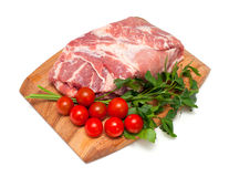 Fresh raw pork meat Royalty Free Stock Images