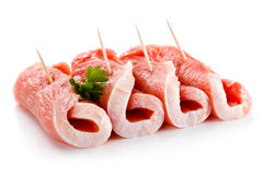 Fresh raw pork Royalty Free Stock Photo