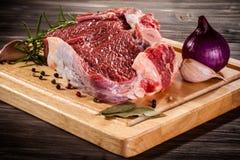 Fresh raw pork Royalty Free Stock Images