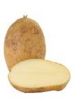 Fresh raw potato. Close - up small new and fresh raw potato Royalty Free Stock Images