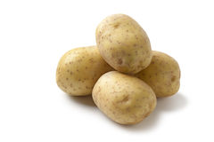 Fresh raw potatoes Stock Photography