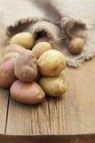 Fresh raw potatoes Royalty Free Stock Photos