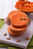 Fresh raw pumpkin Stock Photo