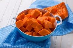 Fresh raw pumpkin Stock Image