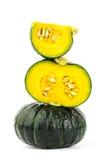 Fresh raw pumpkin Royalty Free Stock Images