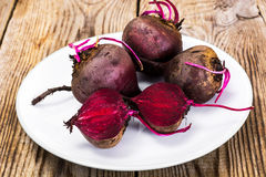 Fresh Raw Red Beetroot, Beet. Studio Photo Royalty Free Stock Images