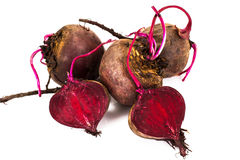 Fresh Raw Red Beetroot, Beet. Studio Photo Royalty Free Stock Photography