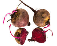 Fresh Raw Red Beetroot, Beet Royalty Free Stock Photos