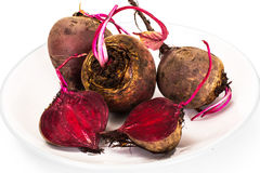 Fresh Raw Red Beetroot, Beet Stock Photo