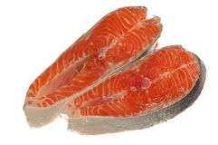 Fresh raw salmon Stock Photography