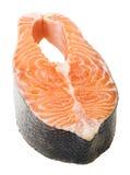 Fresh raw salmon isolated on white background Stock Photography