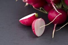 Fresh raw spicy radish Stock Images