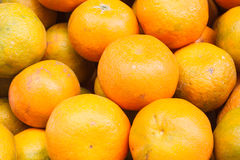 Fresh raw thai orange. Thai fresh orange fruit background Stock Photo