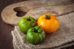 Fresh raw  tomatoes Stock Photography