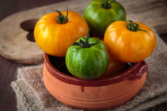 Fresh raw  tomatoes. Delicious fresh raw  tomatoes for an healthy meal Stock Image