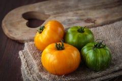 Fresh raw  tomatoes Stock Photos