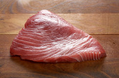 Fresh raw tuna fillet Royalty Free Stock Image