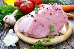 Fresh raw turkey meat Stock Photo