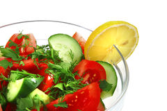 Fresh raw vegetable salad Stock Photography