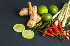Fresh raw vegetables background. Healthy food ingredient. Thai vegetable background with Stock Photography