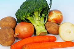 Fresh raw vegetables. Royalty Free Stock Image