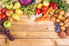 Fresh raw vegetables Stock Photo