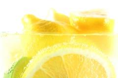 Fresh real lemon drink Royalty Free Stock Photo