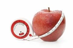 Fresh red apple Stock Image