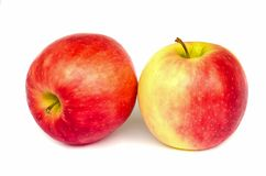 Fresh red apple. Royalty Free Stock Images