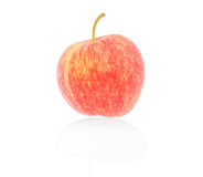 Fresh red apple isolated, Clipping path Stock Photography