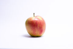 Fresh red apple isolated on white. With clipping path. Fresh red apple isolated on white. With clipping path Royalty Free Stock Images