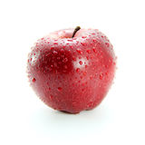 Fresh red apple Stock Image