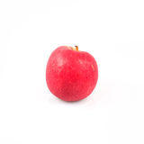 Fresh red apple on white background Royalty Free Stock Photos