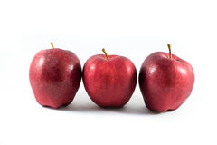 Fresh red apple Royalty Free Stock Photos
