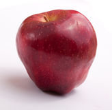 Fresh red apple. On white background Royalty Free Stock Photos