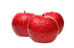 Fresh red apples Royalty Free Stock Image