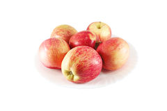 Fresh red apples Stock Image
