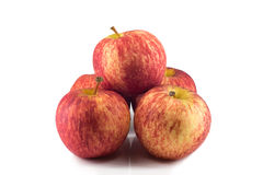 Fresh Red apples isolated Royalty Free Stock Photo