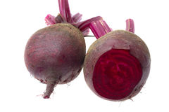 Fresh red Beet on a white background Royalty Free Stock Photo