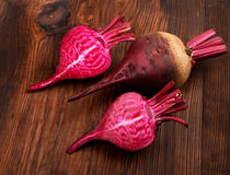 Fresh Red Beets Royalty Free Stock Images
