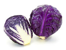 Fresh red cabbage vegetable Royalty Free Stock Photo
